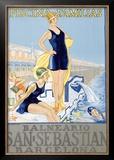 San Sebastian Framed Giclee Print