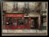 Cafe des Amis Prints by Chiu Tak-Hak