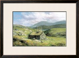 Cottage Near Conor Pass Posters by Clive Madgwick