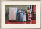 Tomato Catsup Limited Edition Framed Print by Ralph Goings