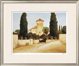 Palermo Villa Limited Edition Framed Print by Robert White