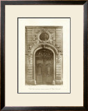 Ornamental Door I Print by Marcel Lambert