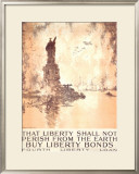 That Liberty Shall Not Perish Framed Giclee Print