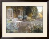 Garden Terrace Posters by Piet Bekaert