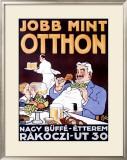 Jobb Mint Otthon Framed Giclee Print by Georges Kugelmann Benda