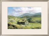 Cottage Near Conor Pass Prints by Clive Madgwick