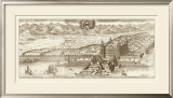 Sepia Arxskogkloster Print by Eric Dahlberg
