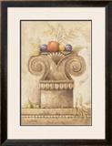 Capiteles con Frutas III Prints by Javier Fuentes