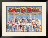 Rocking Wheel Framed Giclee Print