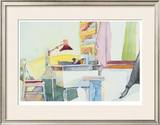 Study Room Limited Edition Framed Print by Tatara