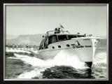 El Rancho, Las Vegas Chris Craft Ski Boat Framed Giclee Print