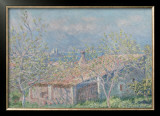 Gardener's House at Antibes, c.1888 Posters by Claude Monet