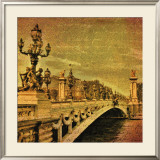 Paris Romance Print by Julia Casey