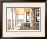 Hampton Porch Limited Edition Framed Print by Daniel Pollera
