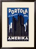 Portola Amerika Framed Giclee Print