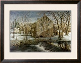 Mill in the Morning Print by Dan Campanelli