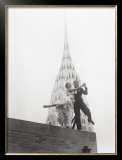Dancing by Chrysler Building Prints