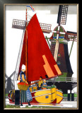 Holland Framed Giclee Print by Kenneth Shoesmith