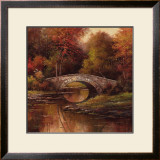 Stone Bridge Print by T. C. Chiu