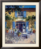 La Terrasse de Cafe Prints by Laurent Parcelier