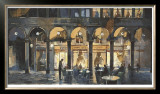Grand Cafe Limited Edition Framed Print by Marti Bofarull