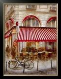 Cafe de Paris II Poster by Noemi Martin