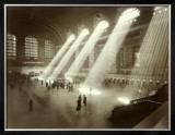 Grand Central Station, New York City, c.1940's Framed Giclee Print