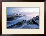 Lighthouse at Dawn Prints by Tony Sweet