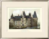 French Chateaux II Prints by Victor Petit