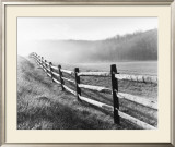 Vanishing Fence Poster by Monte Nagler