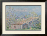 Gardener's House at Antibes, c.1888 Prints by Claude Monet