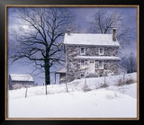 One Candle Print by Ray Hendershot