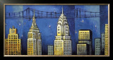 Manhattan II Print by David Stewart