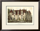 French Chateaux VI Prints by Victor Petit