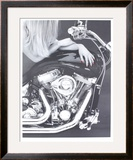 Seduction Limited Edition Framed Print by Harvey Edwards