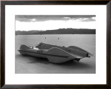 Bonneville Land Speed Racer Framed Giclee Print by David Perry