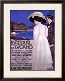Kursaal de Lugano Framed Giclee Print by Luigi Basorini