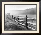 Vanishing Fence Print by Monte Nagler