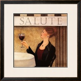 Salute II Prints by Valerie Sjodin