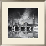 Westminster Palace Poster by Jurek Nems