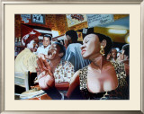 Salsa in Cuba Cafe Poster by Alain Bertrand