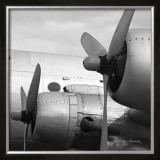Vintage Flight I Poster by Janet Van Arsdale