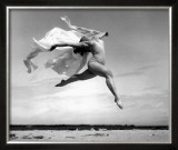 Exhuberant Soaring Dance Framed Giclee Print