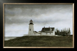 Evening at Pemaquid Art by Douglas Brega