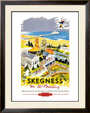 Skegness is So Bracing, British Rail, c.1956 Framed Giclee Print by Kenneth Steel