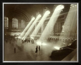 Grand Central Station, New York City, c.1940&#39;s Framed Giclee Print