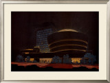 Guggenheim Museum Art by Frank Lloyd Wright