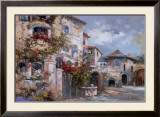 Italian Village II Print by Joseph Kim