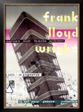 Frank Lloyd Wright, Dutch Exhibit Framed Giclee Print