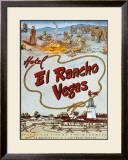 El Rancho, Las Vegas Framed Giclee Print